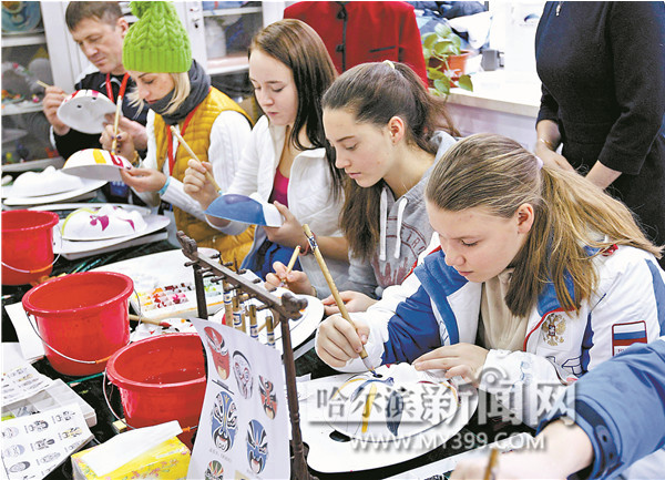 Harbin hosts winter games for Russian and Chinese teenagers